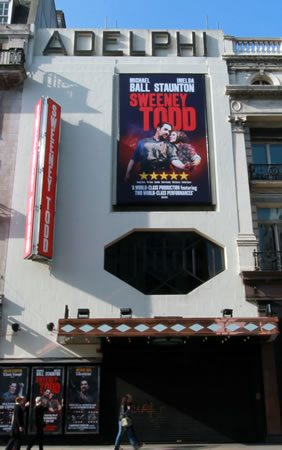 Sweeney Todd the Demon Barber of Fleet Street transfers from Chichester Festival Theatre