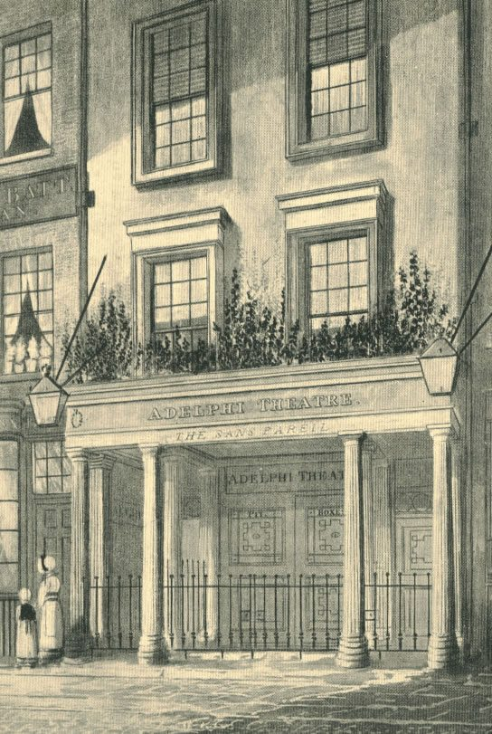 The theatre reopened as the Adelphi Theatre