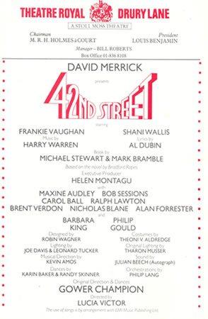 42nd Street opens