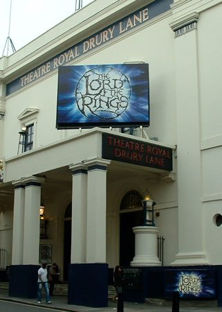 Lord of the Rings the Musical opens