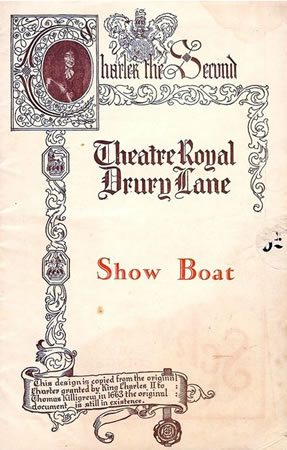 Show Boat has its London Premiere