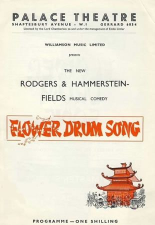 The Original London production of Flower Drum Song opens