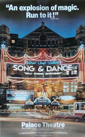 Andrew Lloyd Webber's Song and Dance opens