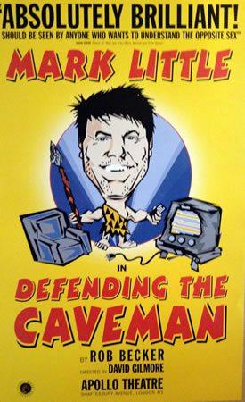 Defending the Caveman runs at the Apollo