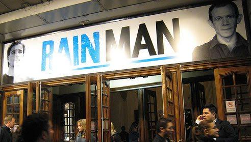 Rain Man has its London premiere