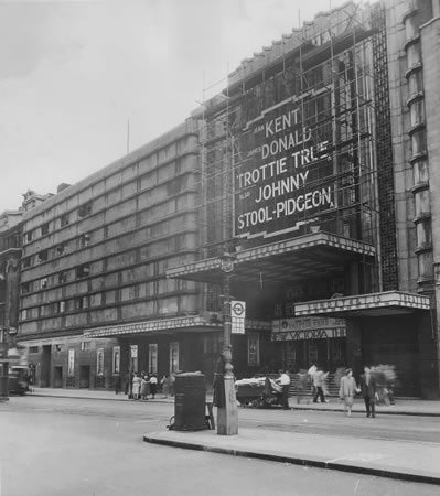 The Apollo Victoria opened