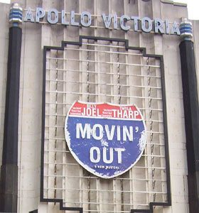 The Billy Joel musical Movin' Out opens