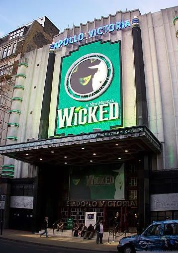 Wicked the Musical has its London premiere