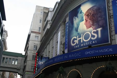 Ghost the Musical has its World Premiere