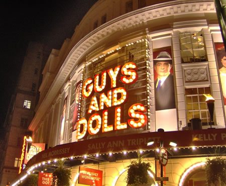 Guys and Dolls opens