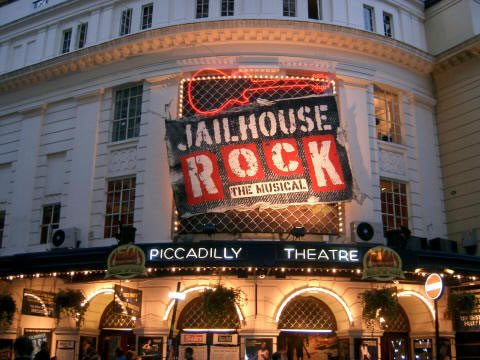The London premiere of Jailhouse Rock