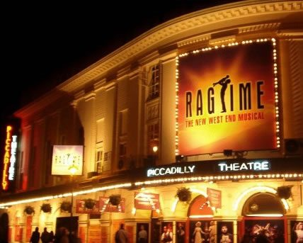 Ragtime has its London premiere