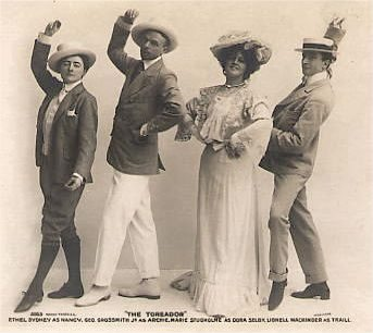 In Town, one of the first English musical comedies opened