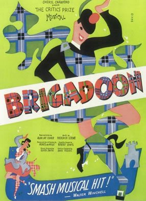 The Lerner and Lowe musical 'Brigadoon' has its British premiere