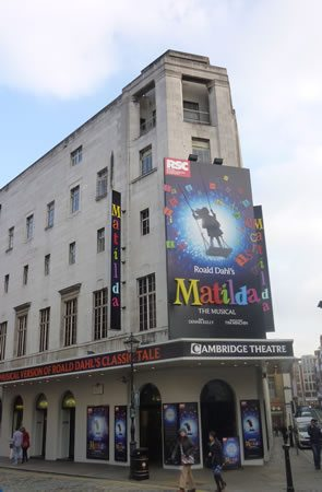 The Cambridge Theatre opened