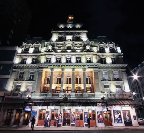 The Her Majesty's Theatre becomes a Really Useful Theatre