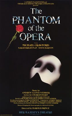 Andrew Lloyd Webber's 'The Phantom of the Opera' opens
