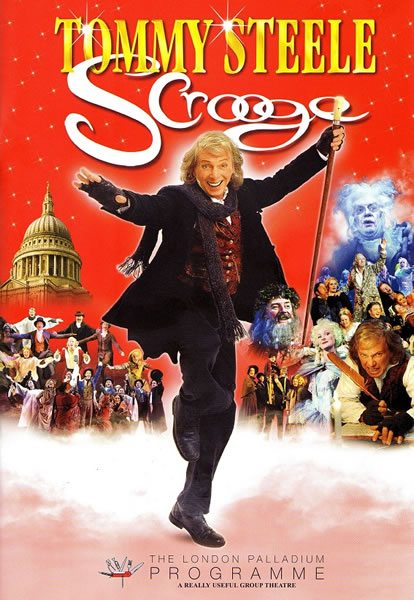 Scrooge opens starring Tommy Steele