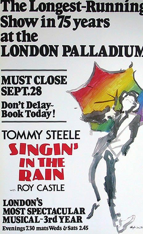 Singin' in the Rain opens