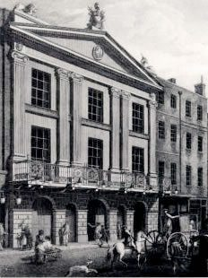 Sir Christopher Wren designs the new Theatre Royal Drury Lane