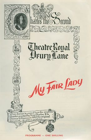 My Fair Lady has its London Premiere