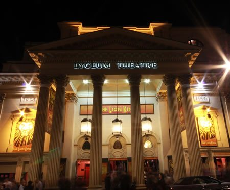 The venue opens as the Theatre Royal Lyceum and English Opera House.