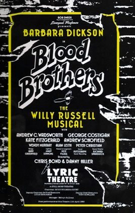 The original London production of Blood Brothers opens