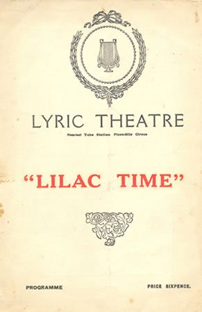 Lilac Time has its London premiere