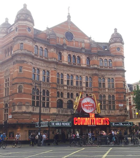 The Commitments Musical has its world premiere
