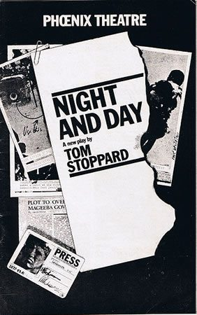 Night and Day by Tom Stoppard opens