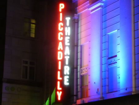 The Piccadilly Theatre opens