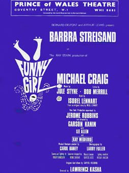 Funny Girl has its London premiere