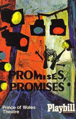 The original London production of Promises Promises