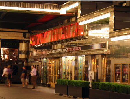 The Savoy becomes an Ambassador's Theatre