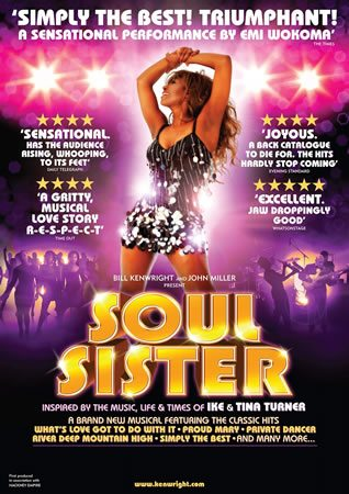 Soul Sister the Tina Turner Musical opens
