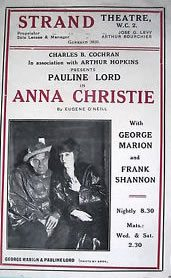 Anna Christie causes a sensation