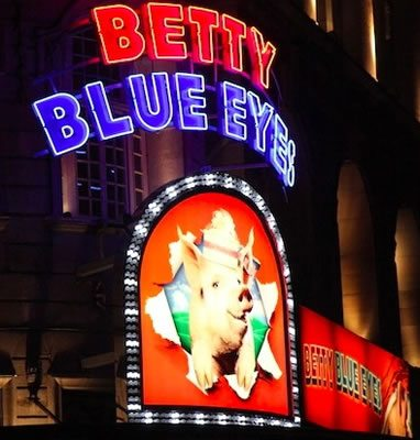 Betty Blue Eyes has its world premiere