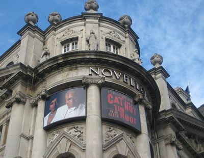 Cat on a Hot Tin Roof opens at the Novello
