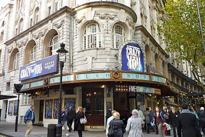 Crazy For You transfers to the Novello