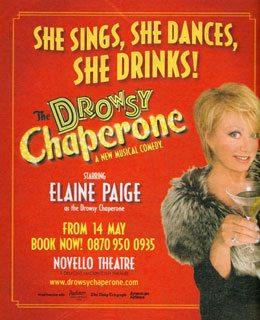 The Drowsy Chaperone has its London premiere