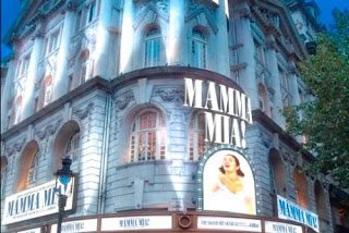 Mamma Mia! transfers to the Novello