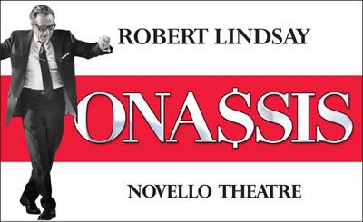 Onassis plays at the Novello