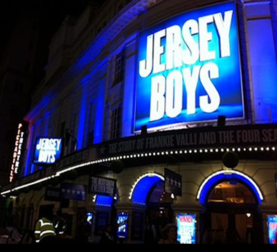 Jersey Boys transfers to the Piccadilly