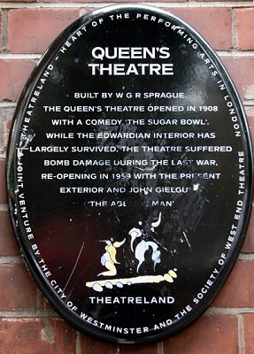 The theatre opened