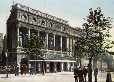 The Garrick Theatre opened