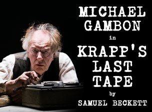 Krapp's Last Tape' with Michael Gambon