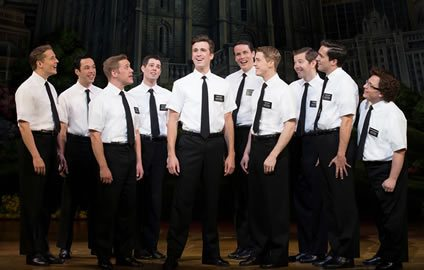 The Book of Mormon opens