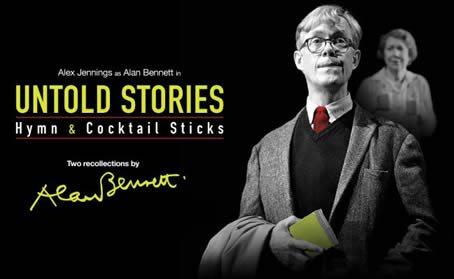 Alex Jennings in Alan Bennett's 'Untold Stories'