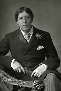 The premiere of Oscar Wilde's 'The Importance of Being Earnest'