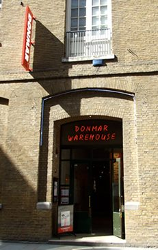 The Donmar Warehouse opened